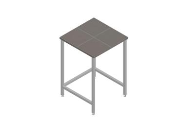 Стол лабораторный для муфельных печей 900*600*900