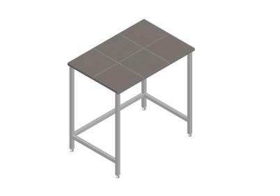 Стол лабораторный для муфельных печей