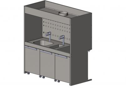 Шкаф для отпаривания -222-150