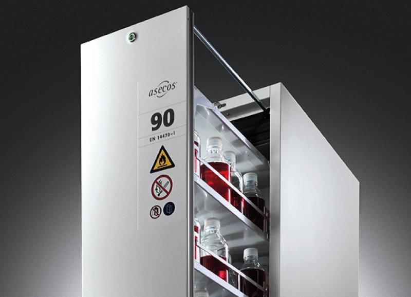 Шкаф хранения кислот и щелочей